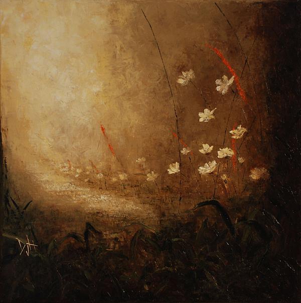 Path Painting - Hidden Path by Debra Houston