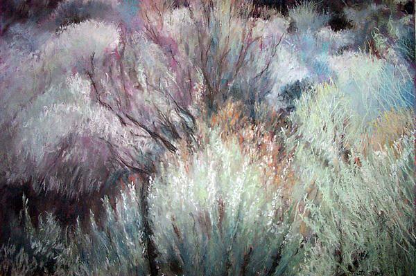 Pastel Pastel - High Desert Seduction by Anita Stoll