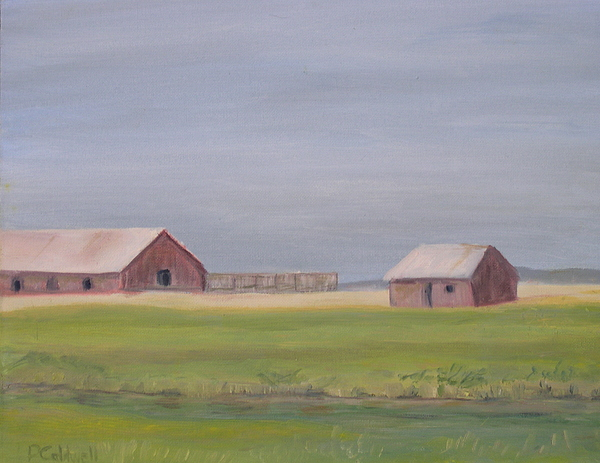Blue Painting - High Plains by Patricia Caldwell