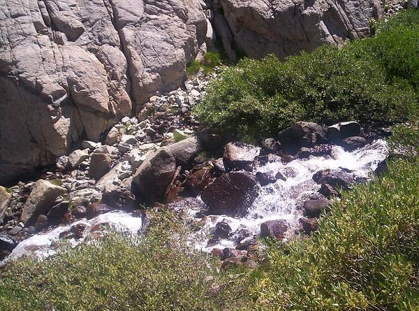 High Sierras Treasure Lakes Iv Photograph by Sarah Stiles