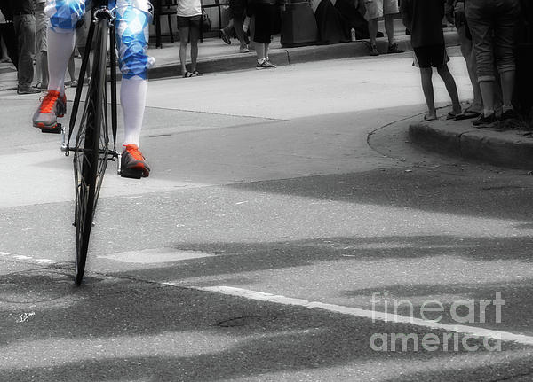Penny-farthing Photograph - High Wheel Shoes  by Steven Digman