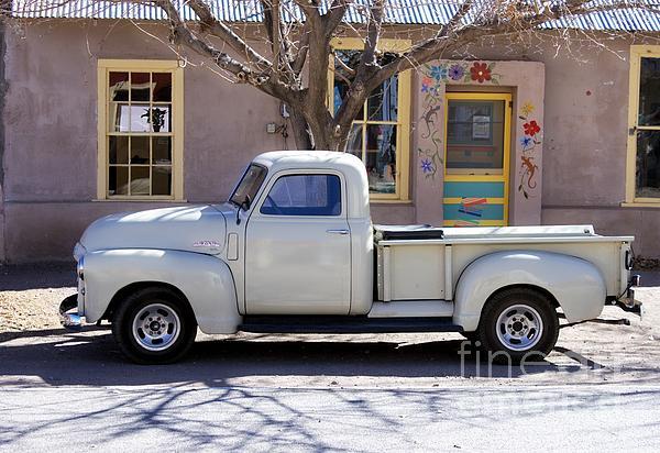 Wall Photograph - Hillsboro New Mexico 1949 Gmc 100 by Barbara Chichester