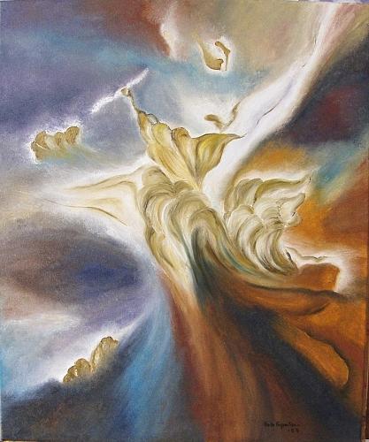 Heaven Painting - Himmelsmaechte by Haike Espenhain