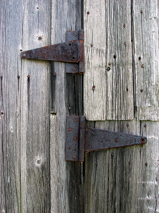 Hinges Photograph - Hinges by Joanne Coyle