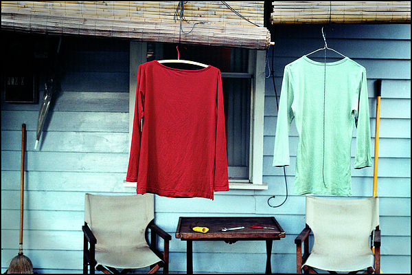 Shirt Photograph - His And Hers by Tim Nichols