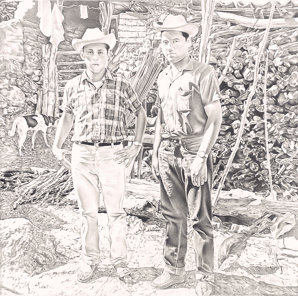 Historia Sin Tiempo Drawing by Antonio Pelayo