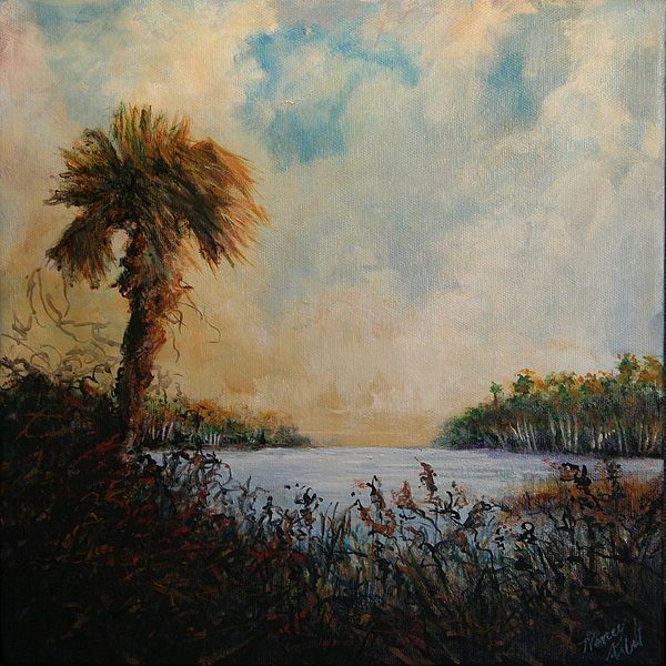 Palm Painting - Historic Palm by Michele Hollister - for Nancy Asbell