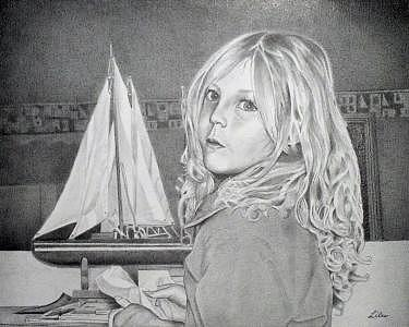 Hobby Time Drawing by Ben Liles