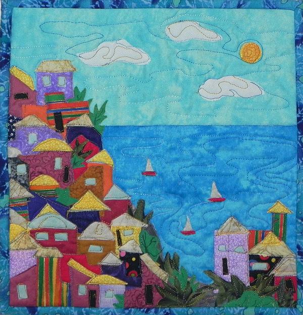 Boats Tapestry - Textile - Holiday by Maureen Wartski