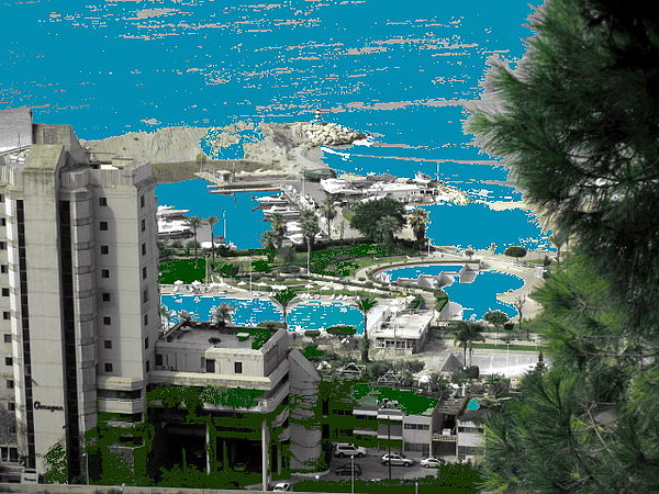 Holidays  Beach Resort-lebanon Photograph by Therese AbouNader