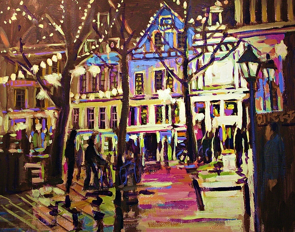 Paintings Painting - Holland Nights by Brian Simons