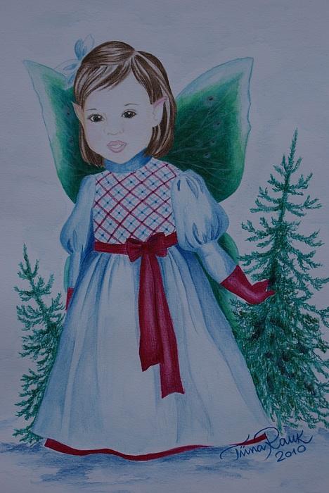 Fairy Painting - Holly by Tiina Rauk