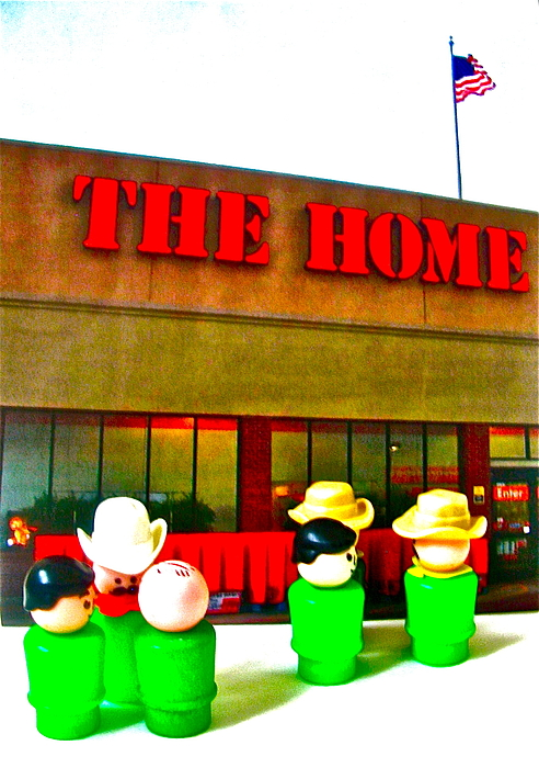 Home Depot Photograph - Home Away From Home by Ricky Sencion