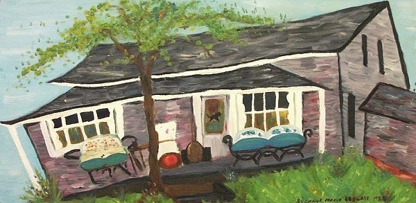House Painting - Home In Feeding Hills Mass Part 1 by Suzanne  Marie Leclair