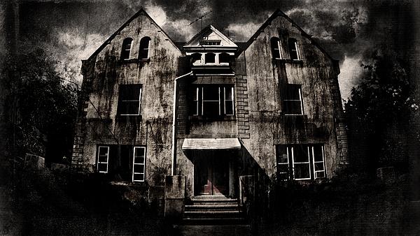 Haunted House Digital Art - Home by Torgeir Ensrud