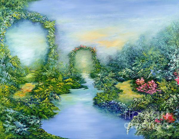 Landscape Painting - Homeward Journey by Hannibal Mane