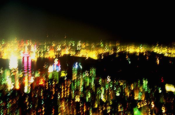 Hong Kong Photograph - Hong Kong Harbor Abstract by Brad Rickerby