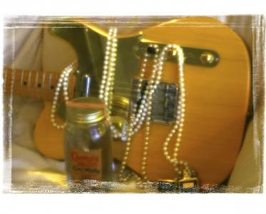 Guitar Photograph - Honky Tonk by Tom Dell