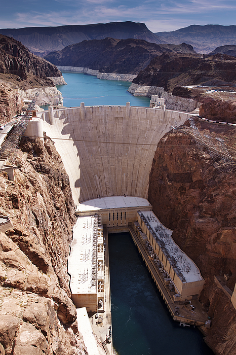 Hoover Photograph - Hoover Dam II by Ricky Barnard