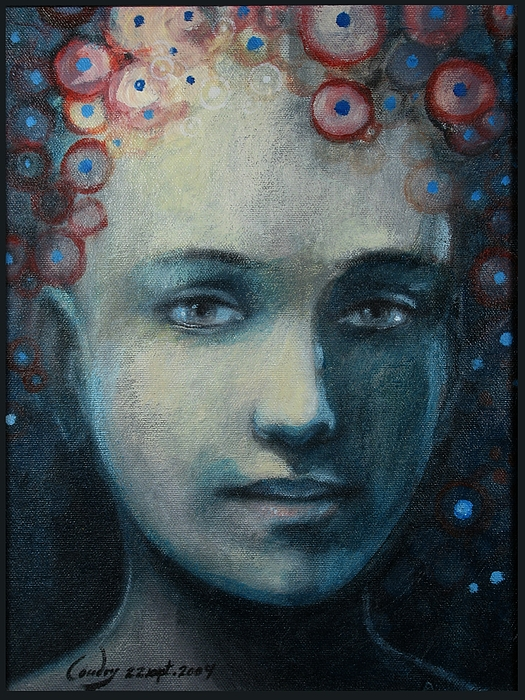 Portrait Painting - Hope by A Coudry