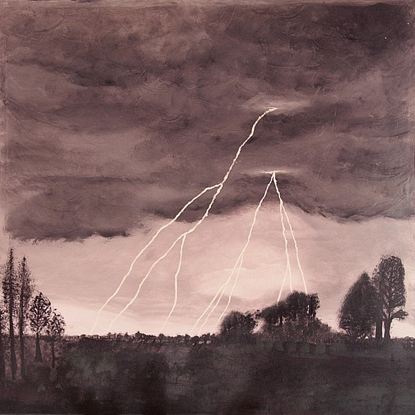 Lightening Painting - Hope After The Storm by Dawn Hay