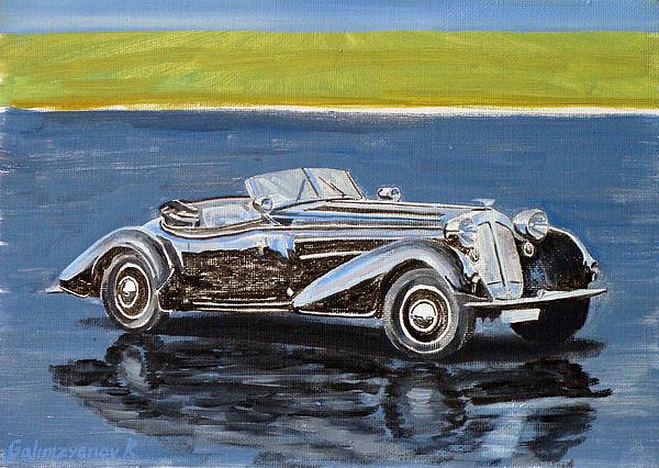 Auto Painting - Horch 835 by Ildus Galimzyanov