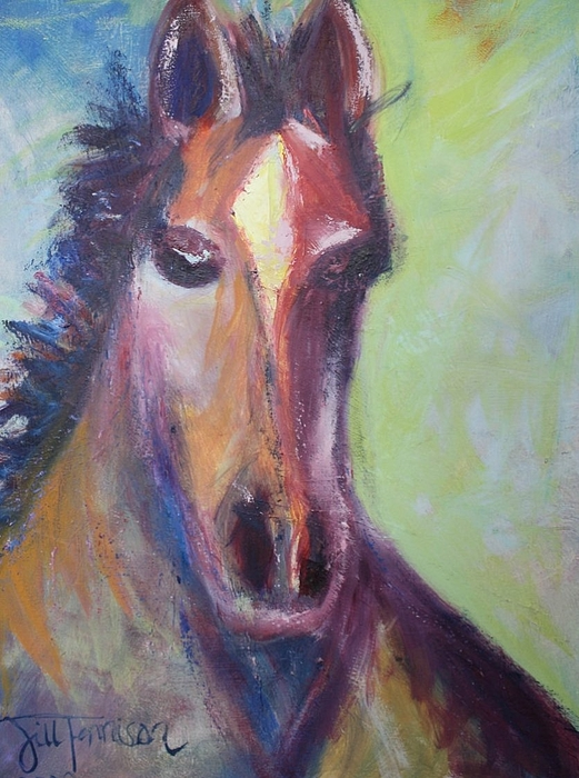 Horse Painting - Horse by Jill Tennison