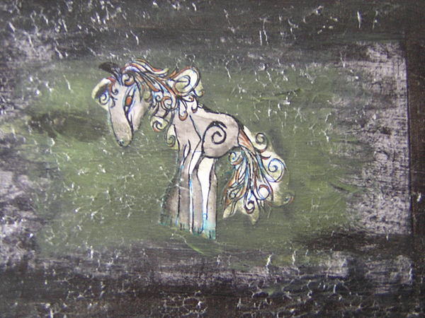 Horse Painting by Talia Helton