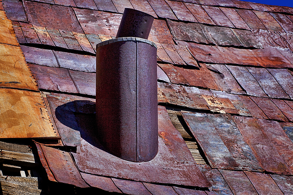 Tin Roof Photograph - Hot Tin Roof by Kelley King