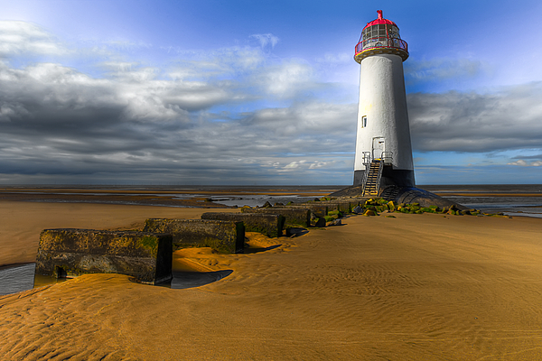Lighthouse Photograph - House Of Light by Adrian Evans