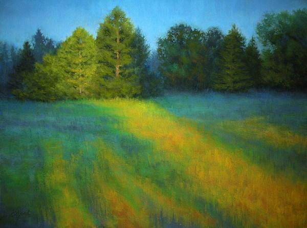 Rising Sun Painting - House Of The Rising Sun by Paula Ann Ford