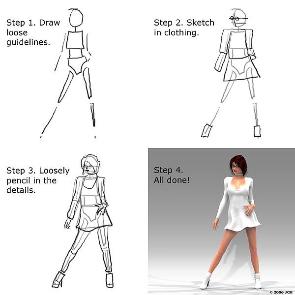 Digital Digital Art - How To Draw Tabby by John Hoagland