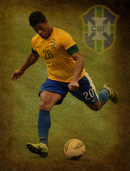 Givanildo Vieira De Souza Photograph - Hulk Kicks Givanildo Vieira De Souza by Lee Dos Santos