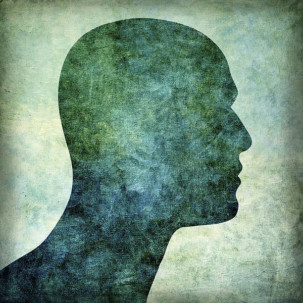 Bald Photograph - Human Representation by Bernard Jaubert