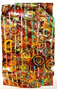 Abstract Painting - Hummdinger by Shelley Tate Garner