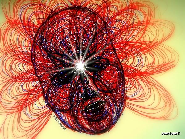 Knowledge Digital Art - Humming Mass Of Raw Experience by Paulo Zerbato