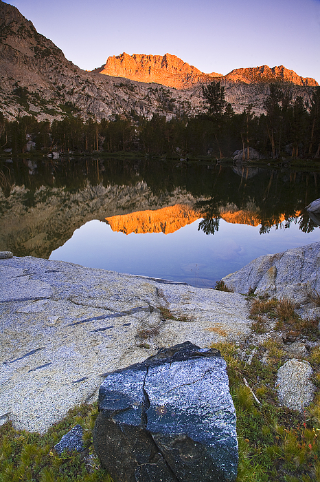 California Photograph - Hurd Peak Morning Reflection by Greg Clure