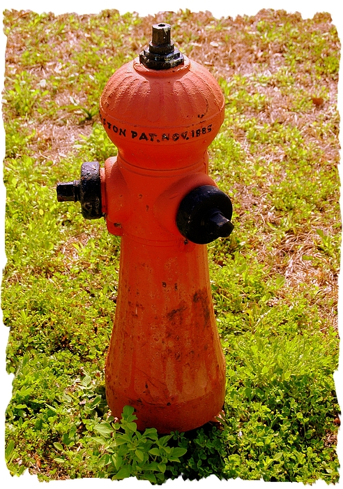 Fire Hydrant Photograph - Hydrant 1885 by Andrew Armstrong  -  Mad Lab Images
