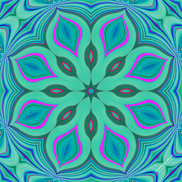 Abstract Digital Art - Hypnotherapy 2231k8 by Brian Gryphon