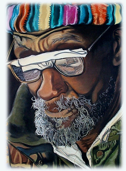 Glasses Painting - I Am Going To Be Somebody by Michael Mahue Moore