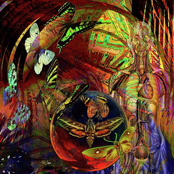 Butterfly Digital Art - I Am Women  by Joseph Mosley