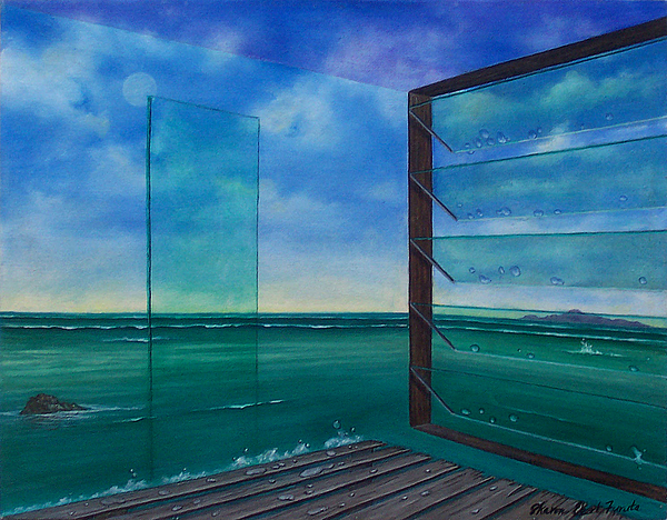 Surreal Painting Painting - I Can See Clearly Now by Sharon Ebert