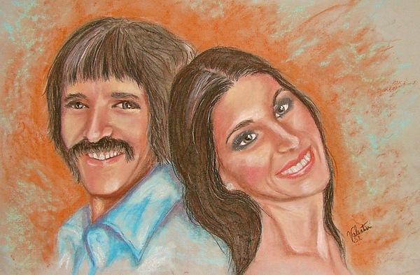 Singers Pastel - I Got You Babe by Sandra Valentini