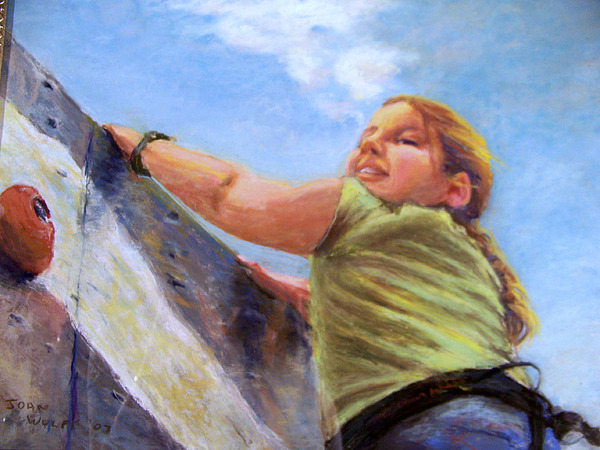Children Pastel - I Made It by Joan Wulff