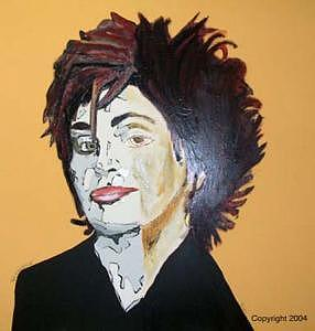 Sharon Osbourne Painting - I Want To Sing A German Song by Sardine and Tobleroni The Monkey in the Box