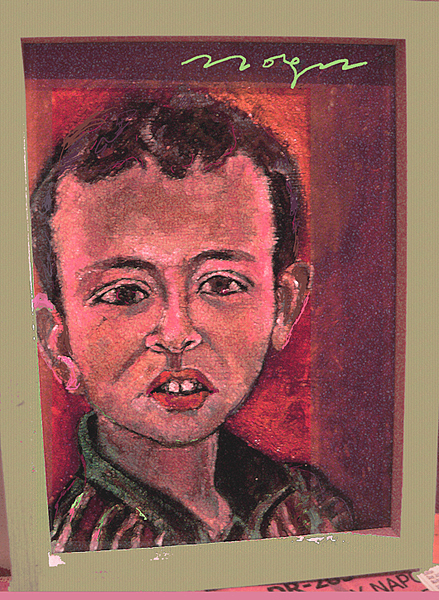 Portrait Painting - Ian Forbs 3 by Noredin Morgan