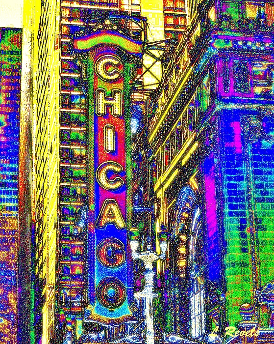 Chicago Photograph - Iconic Chicago by Leslie Revels Andrews