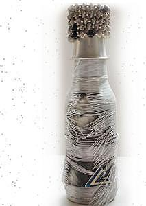 Bottle Mixed Media - If Only You Could Read My Mind... by V Van Sant