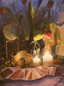 Still Life Painting - If You Lead Me by Sara  Elizabeth Gregory