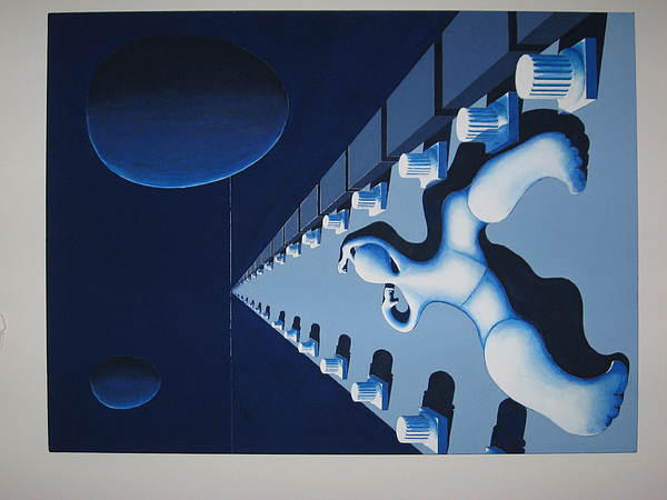Il Lungo Cammino Painting by Julius Sebastiani